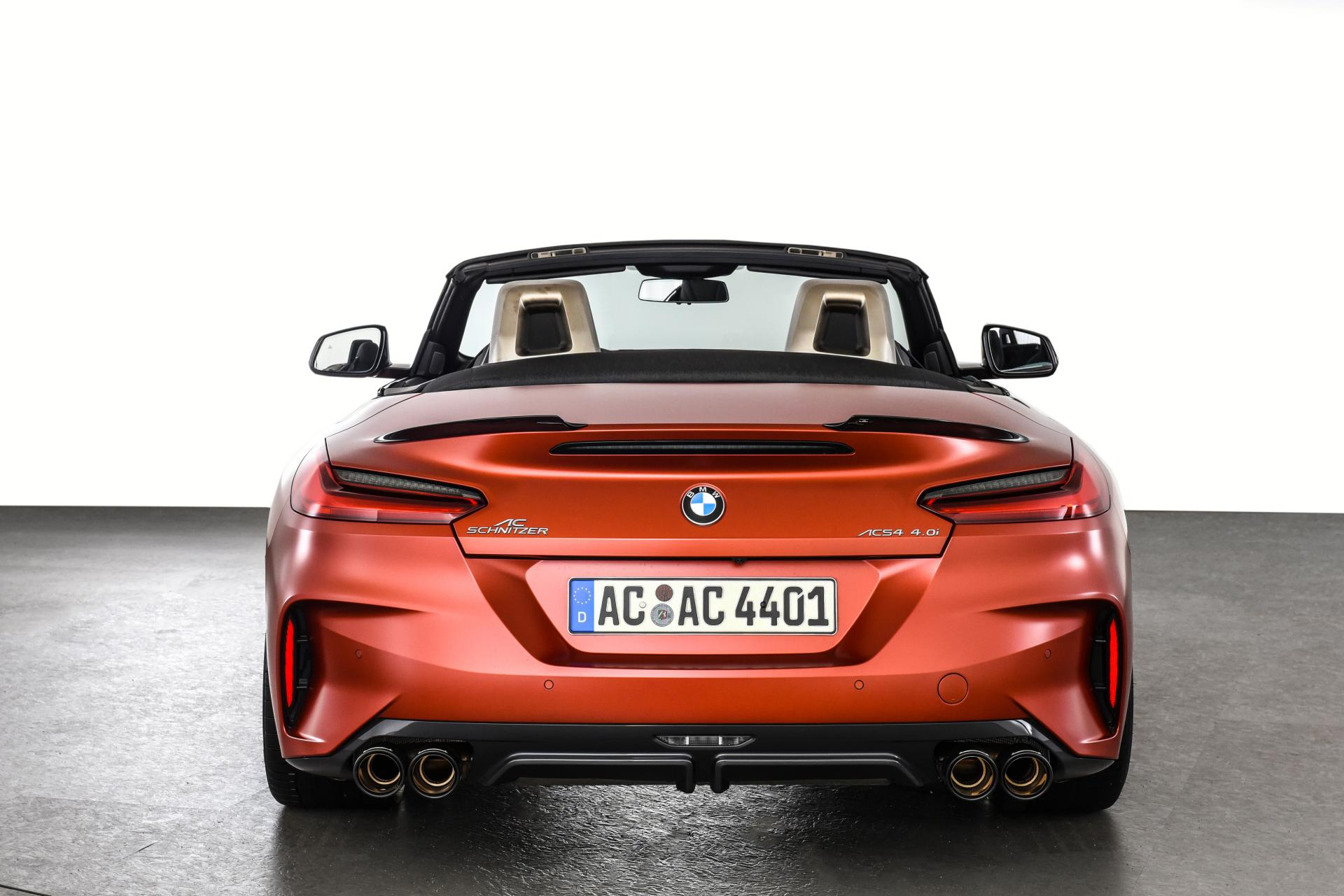 Ac Schnitzer Gives Bmw Z4m 40i Better Everything