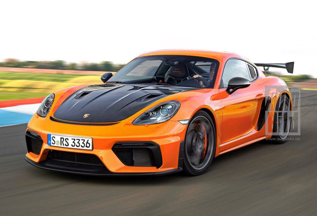 Porsche 718 Cayman Gt4 Rs Could Push Out As Much As 500 Hp 373 Kw