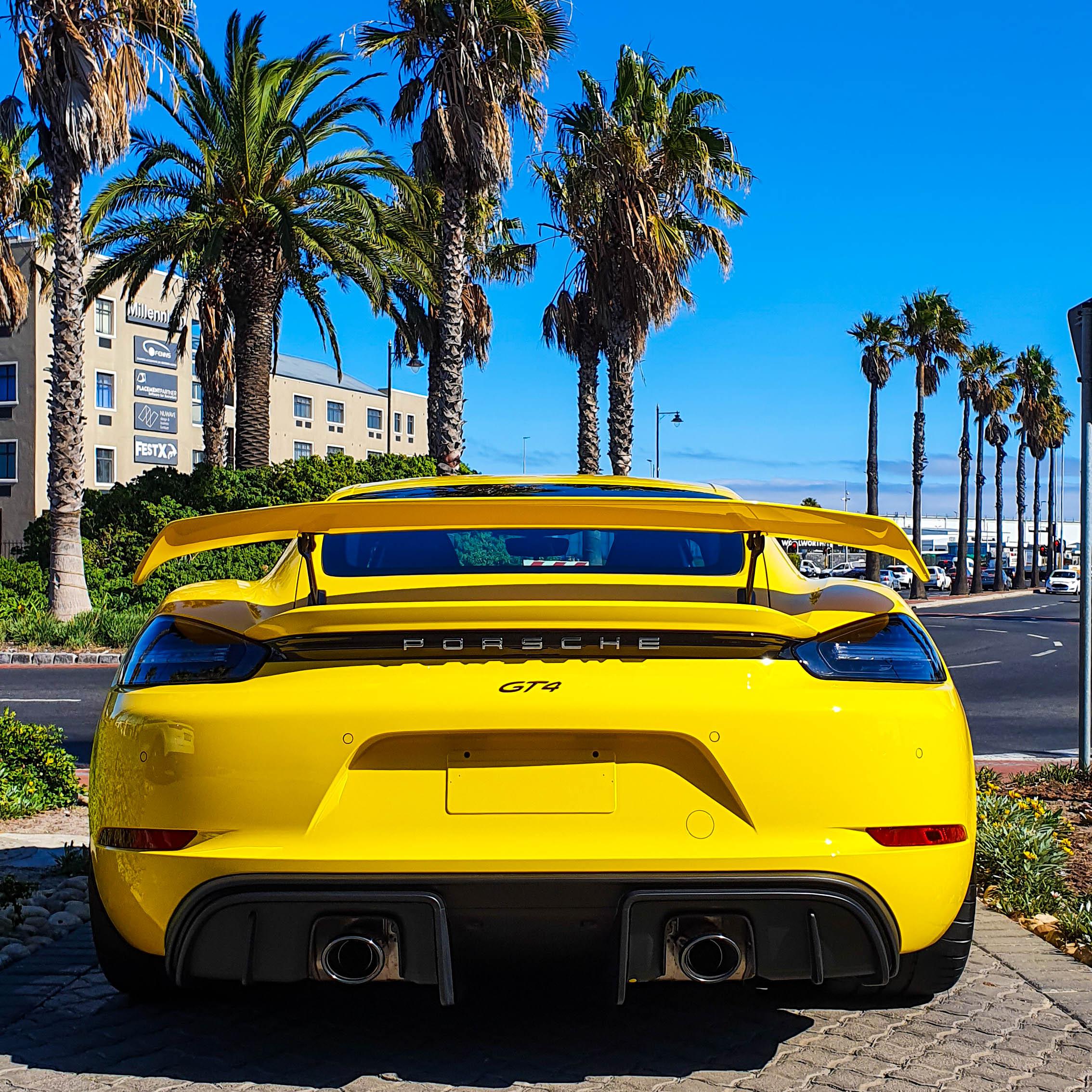 Ferrari F8 Tributo Yellow: #ExoticSpotSA Week 14 2020