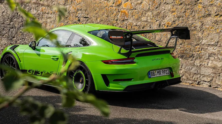 Porsche 911 Gt3 Rs Gets Manthey Racing Upgrades