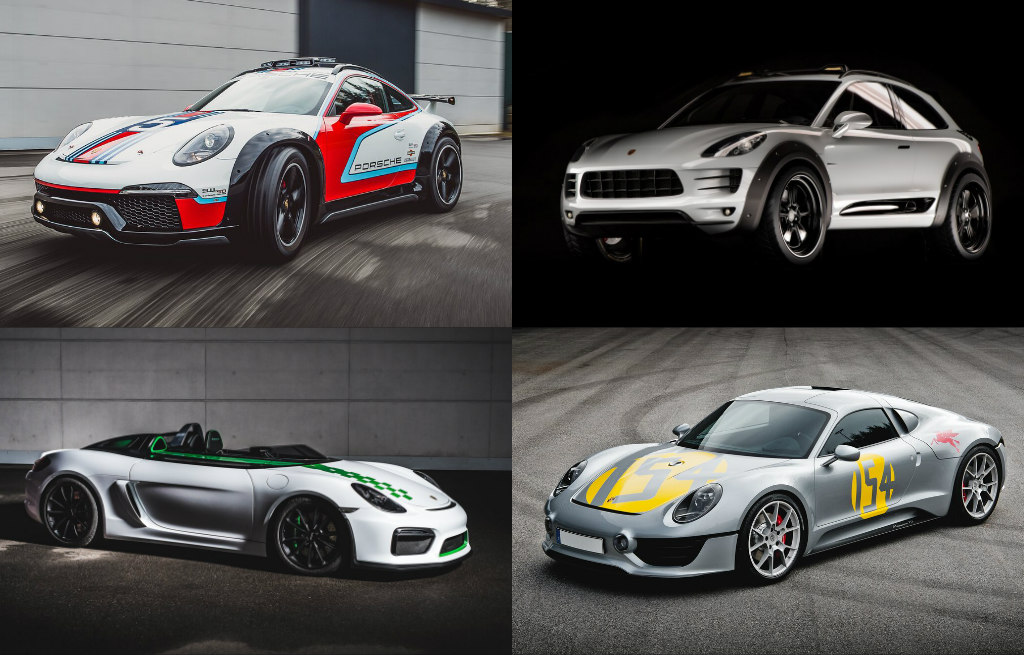 Unseen Porsche Spin-Offs - 911 Vision Safari, Macan Vision Safari, Boxster  Bergspyder, Le Mans Living Legend