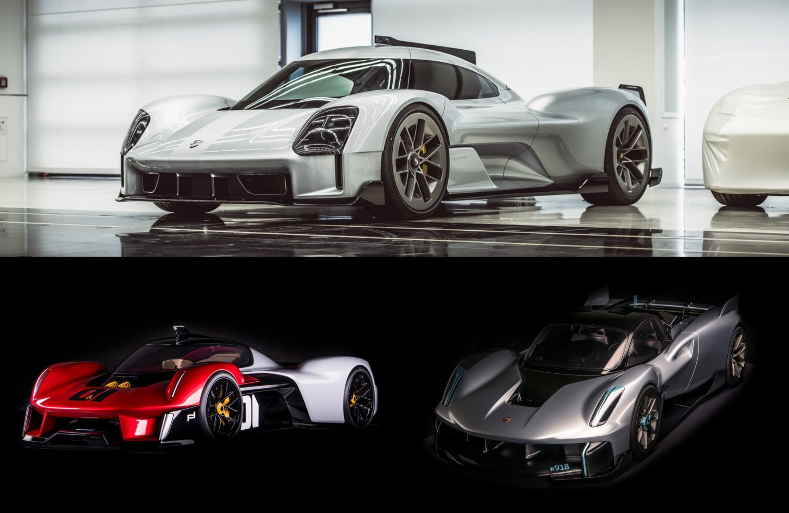Unseen Porsche Hypercars 919 Street Vision 918 Rs Vision 920 And More