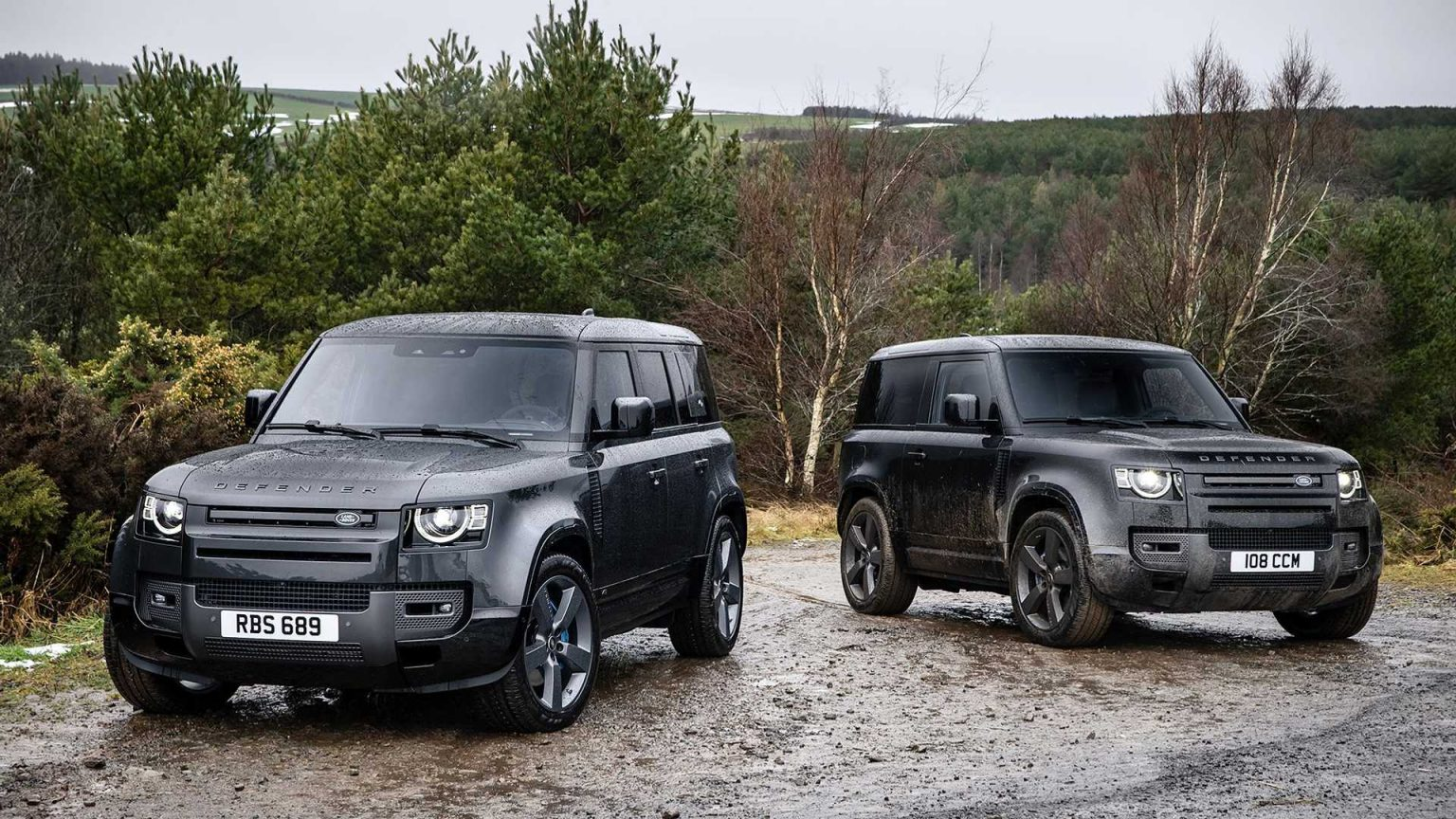 2022 Land Rover Defender V8 Debuts With 518 HP (386 kW)